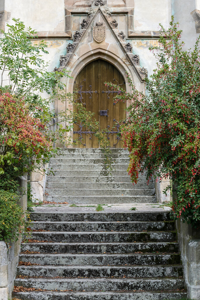 Old church stairs