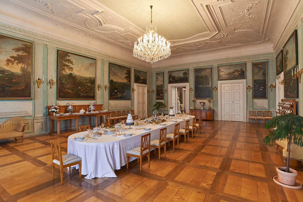 Chateau dining room